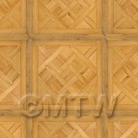 Dolls House Chaumont Large Panel Parquet Wood Effect Flooring