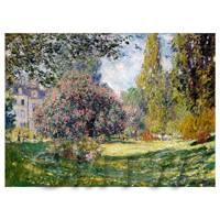 Claude Monet Painting Park Monceau, Paris