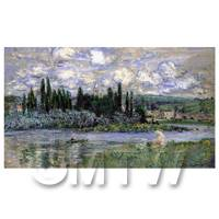 Claude Monet Painting View Of Vetheuil