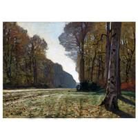 Claude Monet Painting The Pave De Chailly