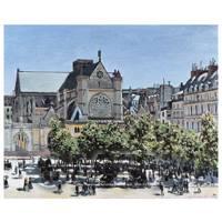Claude Monet Painting - St Germain, Lauxerrois