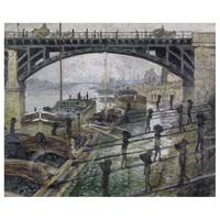 Claude Monet Painting The Coalman