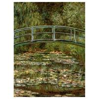 Claude Monet Painting The Japanese Garden