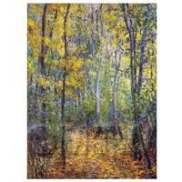 Claude Monet Painting Wood Lane