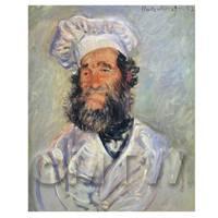 Claude Monet Painting Portrait Of The Chef Pierre Paul