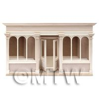 Dolls House Miniature - Dolls House Miniature 6 Pane Long Shop Shop Kit