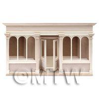 Dolls House Miniature 6 Pane Long Shop Shop Kit