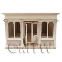 Dolls House Miniature 4 Pane Short Shop Kit