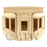 Dolls House Miniature Double Bay Corner Shop Kit
