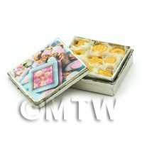 Dolls House Miniature Biscuit Tin And Biscuits Style 2