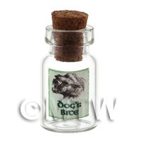 Dolls House Miniature Dogs Bite Magic Storage Jar