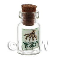 Dolls House Miniature Dead Mans Fingers Magic Storage Jar