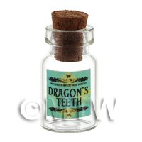 Dolls House Miniature Dragons Teeth Magic Storage Jar (Style 2)
