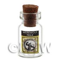 Dolls House Miniature Werewolf Milk Magic Storage Jar (Style 3)
