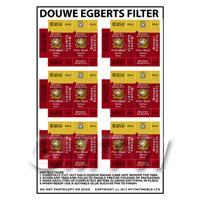 Dolls House Miniature Packaging Sheet of 6 Douwe Egberts Filter Blend
