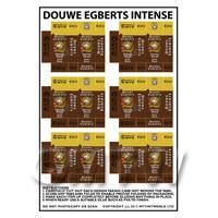 Dolls House Miniature Packaging Sheet of 6 Douwe Egberts Dark Roast