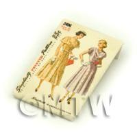 Dolls House Miniature Simplicity Dress Pattern Packet (DPP029)
