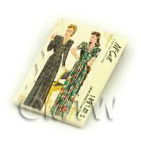 Dolls House Miniature McCall Dress Pattern Packet (DPP055)