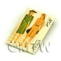 Dolls House Miniature McCall Dress Pattern Packet (DPP056)