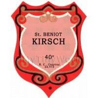Benoit Kirsch Miniature Dolls House Liqueur Label