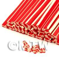 Father Christmas Shaped Nail Art Cane (ENC43)