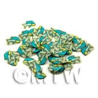 1/12th scale 50 Dolphin Cane Slices - Nail Art (ENS17)