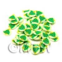 1/12th scale 50 Christmas Tree Cane Slices - Nail Art (ENS23)