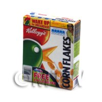 Dolls House Miniature Box of Kellogs Cornflakes