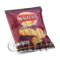 Dolls House Miniature Walkers Smokey Bacon Crisps