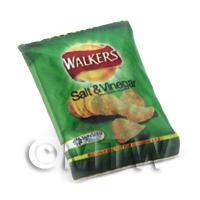 Dolls House miniature Walkers Salt  And Vinegar Crisps