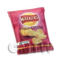 Dolls House Miniature Walkers Prawn Cocktail Crisps