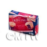 Dolls House Miniature Box of Mr Kiplings Mince Pies