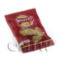 Dolls House miniature Walkers Ready Salted Crisps