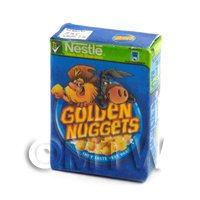 Dolls House Miniature - Dolls House Miniature Box of Nestle Golden Nuggets