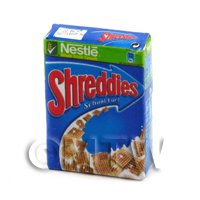 Dolls house Miniature Box of Nestle Shreddies