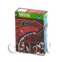 Dolls House Miniature  Box of Nestle Coco Shreddies