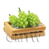 Dolls House Miniature Crate of Grapes
