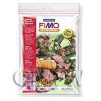 FIMO Flexible Transparent Clay Mould Autumn Decorations