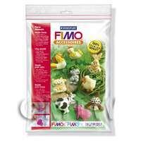 FIMO Flexible Transparent Clay Mould Farm Animals