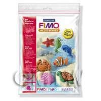 FIMO Flexible Transparent Clay Mould Sea Creatures