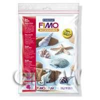 FIMO Flexible Transparent Clay Mould Sea Shells