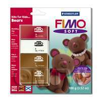 FIMO Soft Polymer Clay Kits For Kids Bears
