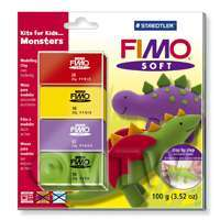 FIMO Soft Polymer Clay Kits For Kids Monsters