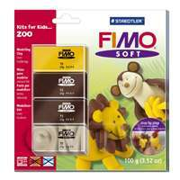 FIMO Soft Polymer Clay Kits For Kids Zoo