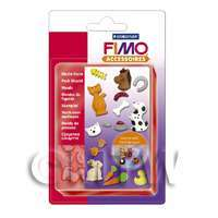 FIMO Flexible Hardwaring Clay Push Mould Pets