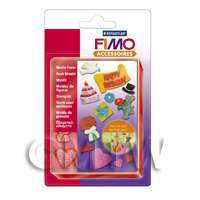 FIMO Flexible Hardwaring Clay Push Mould Party Time