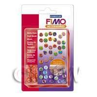 FIMO Flexible Hardwaring Clay Push Mould ABC/123