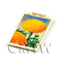 Dolls House Flower Seed Packet - Marigold