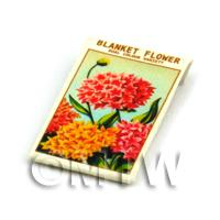 Dolls House Flower Seed Packet - Blanket Flower