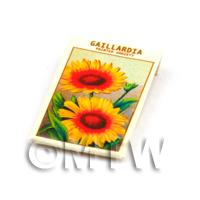 Dolls House Flower Seed Packet - Gaillardia